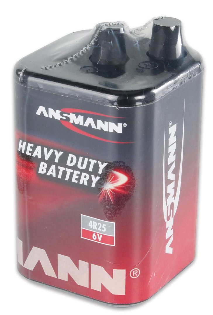 batterie 6v 9ah batterie typ 4r25 blockbatterier warnleuchten. Black Bedroom Furniture Sets. Home Design Ideas