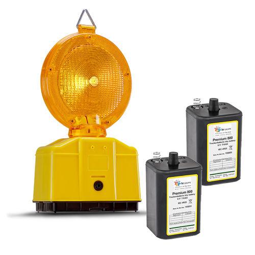 Warnleuchten Lampenschl/üssel f/ür Baustellenleuchten